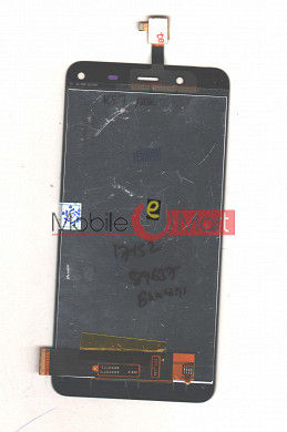 Lcd Display With Touch Screen Digitizer Panel For Karbonn Titanium Frames S7 (Black)