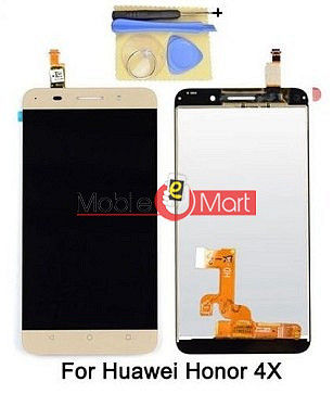 Lcd Display With Touch Screen Digitizer Panel For Huawei Honor 4X(Black)