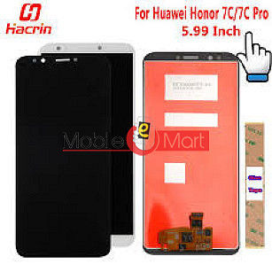 Lcd Display With Touch Screen Digitizer Panel For Huawei Honor 7C(Black)