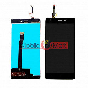 Lcd Display With Touch Screen Digitizer Panel For Xiaomi Redmi 3S - Black