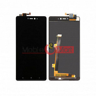 Lcd Display With Touch Screen Digitizer Panel For Xiaomi Mi 4i - Black