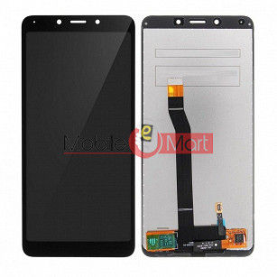 Lcd Display With Touch Screen Digitizer Panel For Xiaomi Redmi 6A - Black