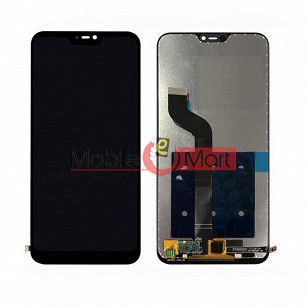 Lcd Display With Touch Screen Digitizer Panel For Xiaomi Redmi Note 6 Pro (Black)