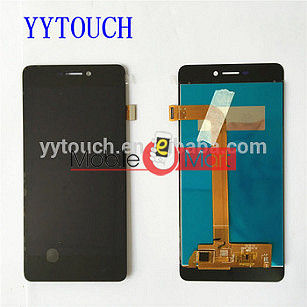 Lcd Display With Touch Screen Digitizer Panel Combo Folder Glass For Micromax Vdeo 4 Q4251(Black)