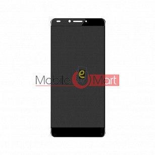 Lcd Display With Touch Screen Digitizer Panel Combo Folder Glass For Panasonic Eluga I7 - Black