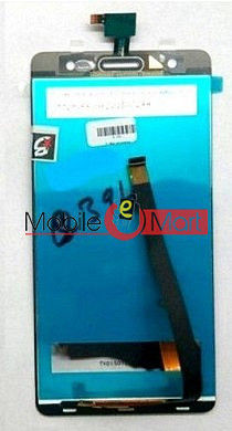 Lcd Display With Touch Screen Digitizer Panel Combo Folder Glass For Micromax Canvas Juice 3 Plus-Q394(Black)