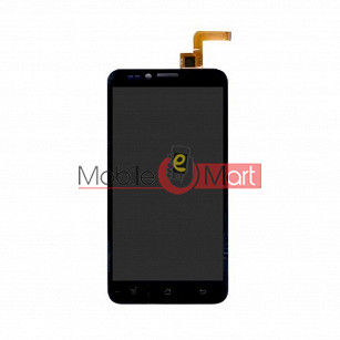 Lcd Display With Touch Screen Digitizer Panel Combo Folder Glass For Panasonic P11 - Black