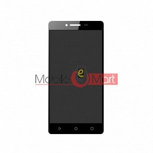 Lcd Display With Touch Screen Digitizer Panel Combo Folder Glass For Panasonic P95 - Black