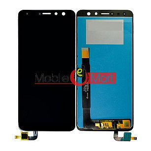 Lcd Display With Touch Screen Digitizer Panel Combo Folder Glass For Micromax Canvas Infinity Pro HS3  (Black)
