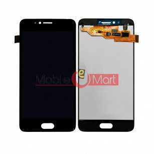 Lcd Display With Touch Screen Digitizer Panel Combo Folder Glass For Panasonic Eluga i4 - Black