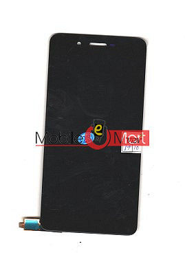 Lcd Display With Touch Screen Digitizer Panel Combo Folder Glass For Micromax Evok Power Q4260 (Black)