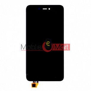 Lcd Display With Touch Screen Digitizer Panel Combo Folder Glass For Micromax Canvas Spark 3 Q385 (Black)