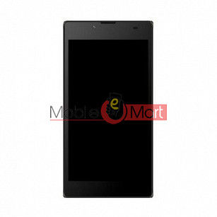 Lcd Display With Touch Screen Digitizer Panel Combo Folder Glass For Micromax Canvas Amaze 4G Q491 (Black)