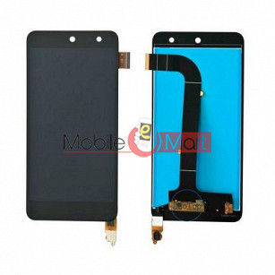 Lcd Display With Touch Screen Digitizer Panel Combo Folder Glass For  Micromax Canvas E313 (Black)