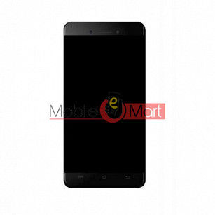 Lcd Display With Touch Screen Digitizer Panel Combo Folder Glass For Micromax Bharat 5 (Black)