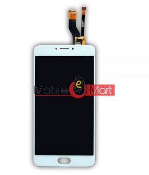 Lcd Display With Touch Screen Digitizer Panel Combo Folder Glass For Micromax Yunicorn YU 5530 (Black)