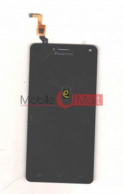 Lcd Display With Touch Screen Digitizer Panel Combo Folder Glass For Panasonic Eluga Icon 2 (Black)