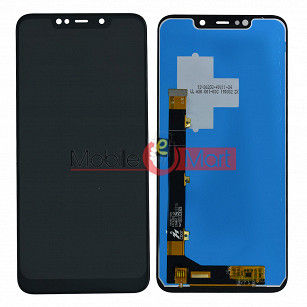 Lcd Display With Touch Screen Digitizer Panel Combo Folder Glass For Panasonic Eluga Z1 (Black)