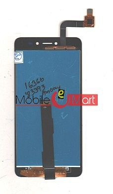 Lcd Display With Touch Screen Digitizer Panel Combo Folder Glass For Coolpad E2 (Black)