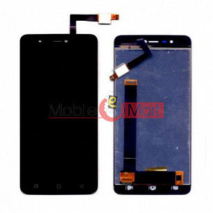 Lcd Display With Touch Screen Digitizer Panel Combo Folder Glass For Coolpad Mega 3 (Black)