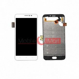 Lcd Display With Touch Screen Digitizer Panel Combo Folder Glass For VOTO V2i (Black)