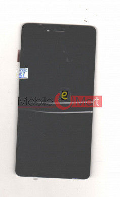Lcd Display With Touch Screen Digitizer Panel Combo Folder Glass For VOTO V4 (Black)