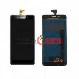 Lcd Display With Touch Screen Digitizer Panel Combo Folder Glass For Lava A3 mini