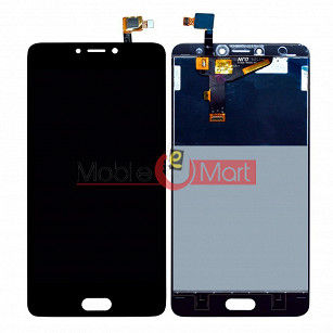 Lcd Display With Touch Screen Digitizer Panel Combo Folder Glass For Infinix Note 4 - Black