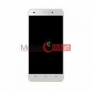 Lcd Display With Touch Screen Digitizer Panel Combo Folder Glass For Lava X3