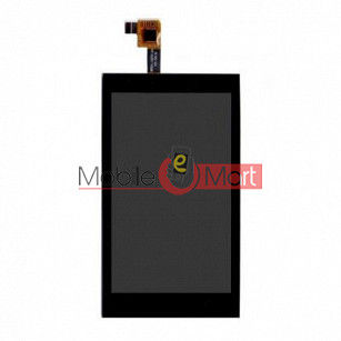 Lcd Display With Touch Screen Digitizer Panel Combo Folder Glass For Lava Iris 405 Plus