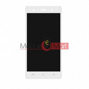 Lcd Display With Touch Screen Digitizer Panel Combo Folder Glass For Lava P7 Plus