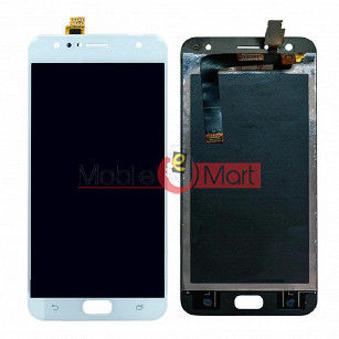 Lcd Display With Touch Screen Digitizer Panel Combo Folder Glass For Asus Zenfone 4 Selfie (Black)