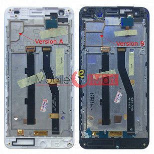 Lcd Display With Touch Screen Digitizer Panel Combo Folder Glass For ASUS X003 (Black)