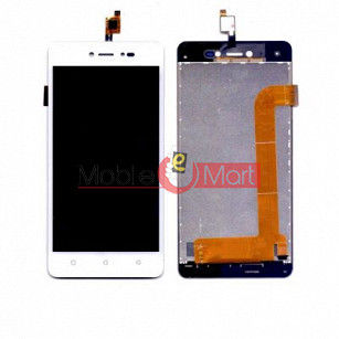 Lcd Display With Touch Screen Digitizer Panel Combo Folder Glass For Lava Z60