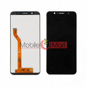 Lcd Display With Touch Screen Digitizer Panel Combo Folder Glass For Asus Zenfone Max Pro M1 (Black)