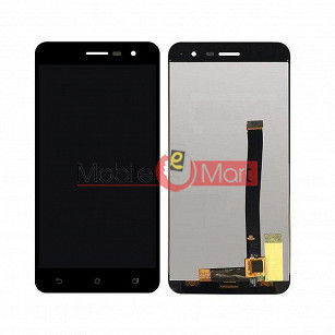 Lcd Display With Touch Screen Digitizer Panel Combo Folder Glass For Asus Zenfone 3 ZE520KL - Black