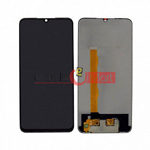 Lcd Display With Touch Screen Digitizer Panel Combo Folder Glass For Vivo V11 - Black