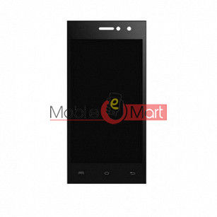 Lcd Display With Touch Screen Digitizer Panel Combo Folder Glass For lava a76