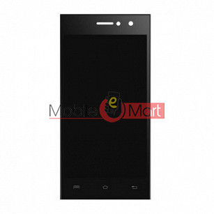 Lcd Display With Touch Screen Digitizer Panel Combo Folder Glass For Lava A76 Plus