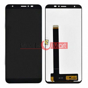 Lcd Display With Touch Screen Digitizer Panel Combo Folder Glass For  Lava Z91