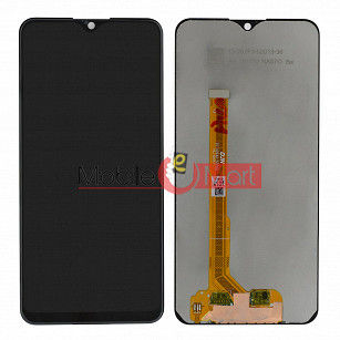 Lcd Display With Touch Screen Digitizer Panel Combo Folder Glass For Vivo Y93 (Black)
