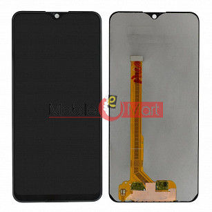 Lcd Display With Touch Screen Digitizer Panel Combo Folder Glass For Vivo Y91 - Black