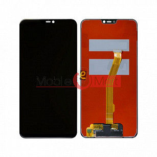 Lcd Display With Touch Screen Digitizer Panel Combo Folder Glass For Vivo V9 (Black)