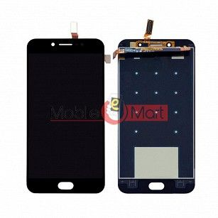 Lcd Display With Touch Screen Digitizer Panel Combo Folder Glass For Vivo V5 - Black