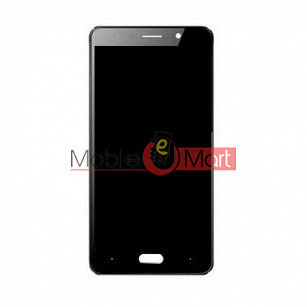 Lcd Display With Touch Screen Digitizer Panel Combo Folder Glass For Comio C1 Pro (Black)