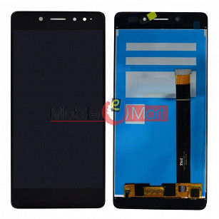 Lcd Display With Touch Screen Digitizer Panel Combo Folder Glass For Tenor 10.or E (Black)