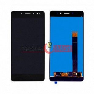 Lcd Display With Touch Screen Digitizer Panel Combo Folder Glass For Tenor 10.or G (Black)