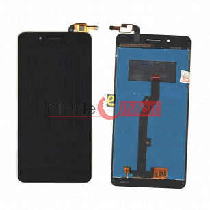 Lcd Display With Touch Screen Digitizer Panel Combo Folder Glass For Tenor 10.or D (Black)