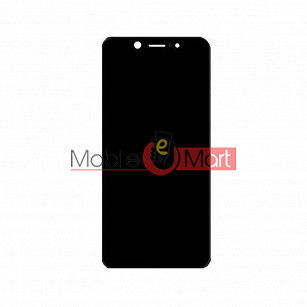 Lcd Display With Touch Screen Digitizer Panel Combo Folder Glass For Itel A44 (Black)