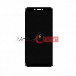 Lcd Display With Touch Screen Digitizer Panel Combo Folder Glass For Itel A45 (Black)